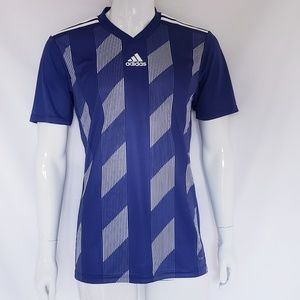 Adidas Striped Athletic Shirt
